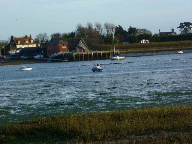 View across Chichester Channel to Dell Quay