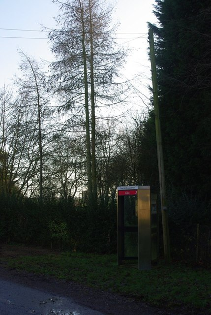 Cockayne Hatley phone box