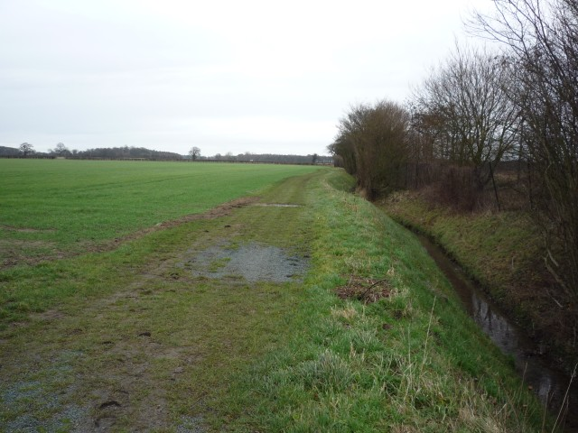 Permissive bridleway to Glade farm