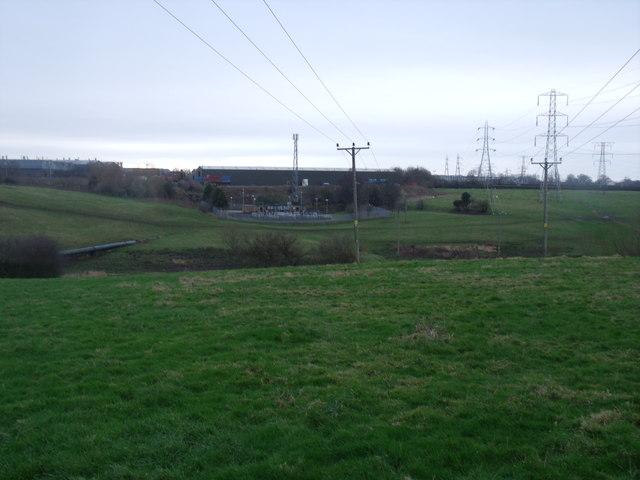 C H K Factory Bentley Motors is to the far left