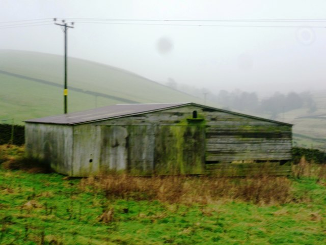 Low Barn on the Hillside above Dryknowle Farm