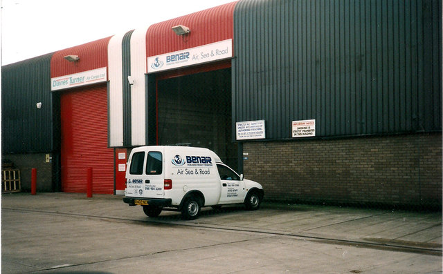 Benair Freight warehouse, Manchester Airport Cargo