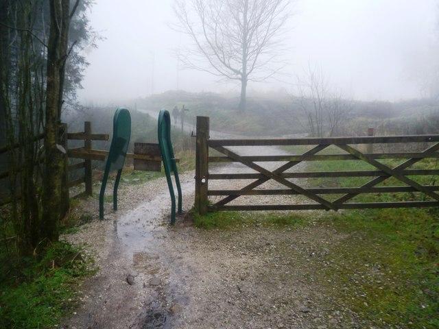 Gateway in Macclesfield Forest