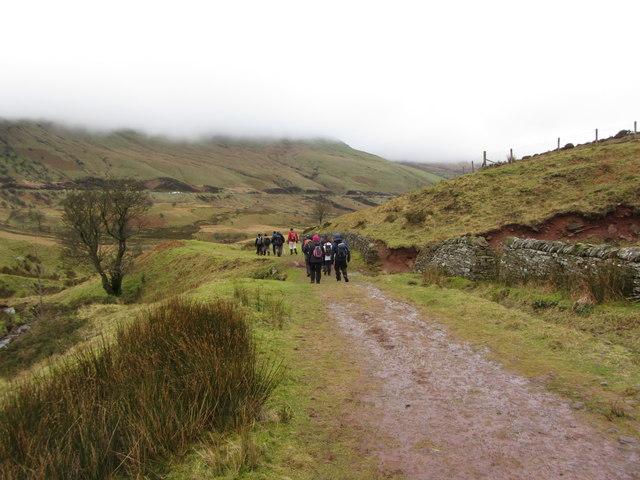 Taff Trail near the Storey Arms