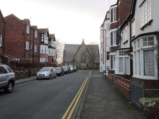 Looking along Rutland Street towards St John's