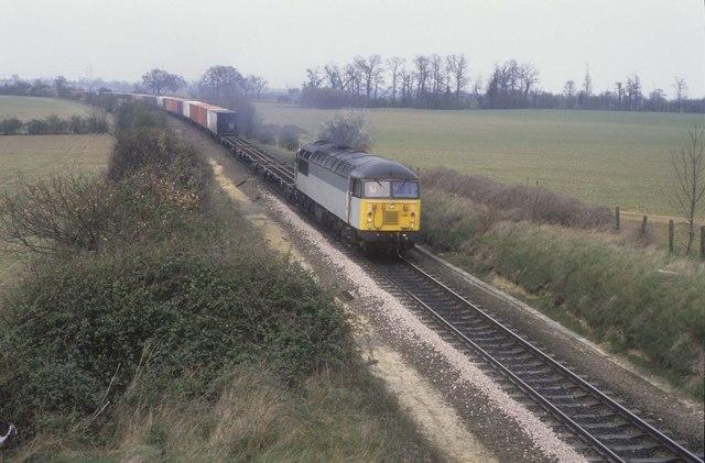 Class 56 trial on the Felixstowe Line