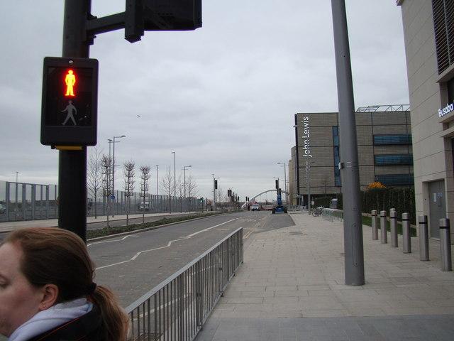 View along Westfield Way #2