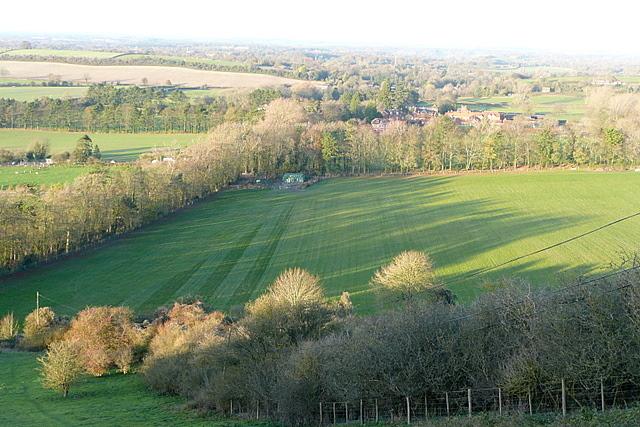 View from Stubbington Down