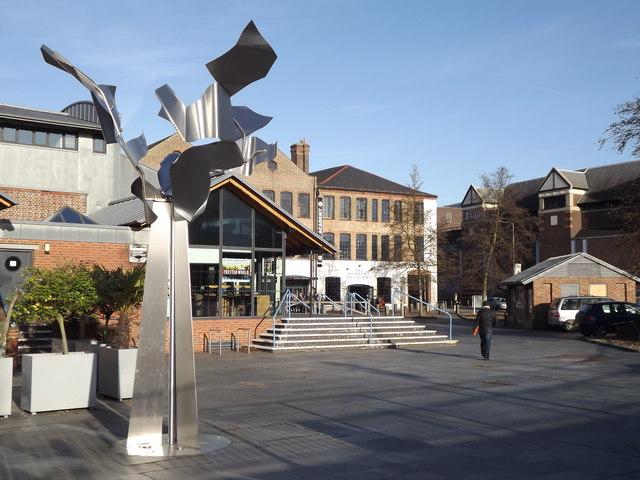 Sculpture by Rodborough Buildings
