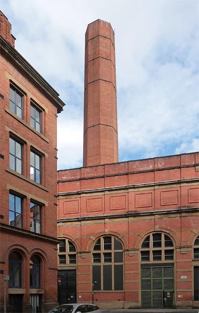 Electricity station, Winser Street, Manchester