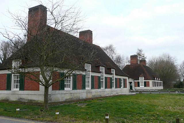 Runnymede gate houses