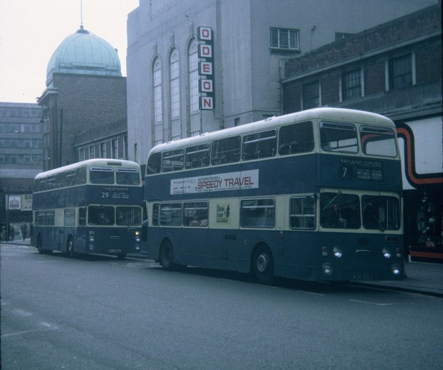 Two buses in Southend-on-Sea