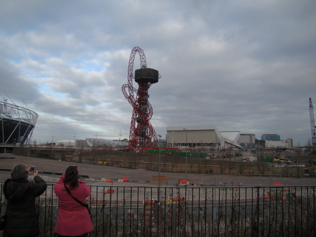 View of the viewing tower from the Greenway #3