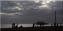 TQ3103 : Brighton Beach by Christine Westerback