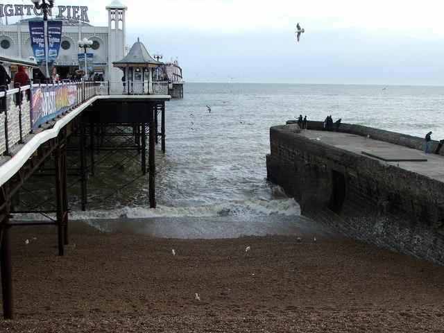 West Side of Brighton Pier
