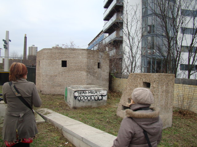 Pillboxes on the Greenway