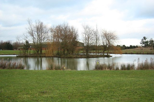 Beehive Business Park lake