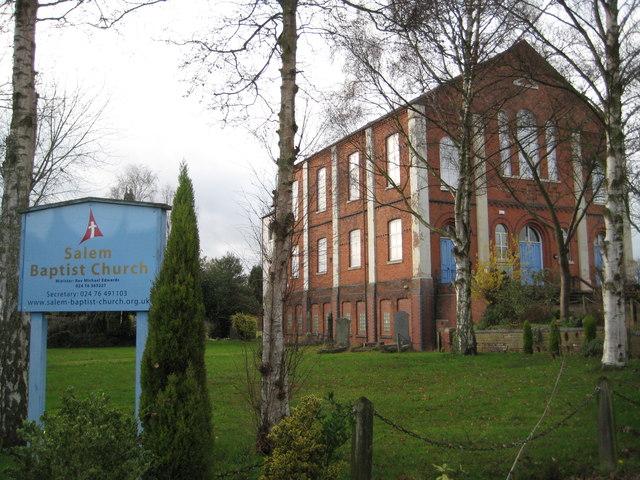 Coventry: Salem Baptist Church, Longford