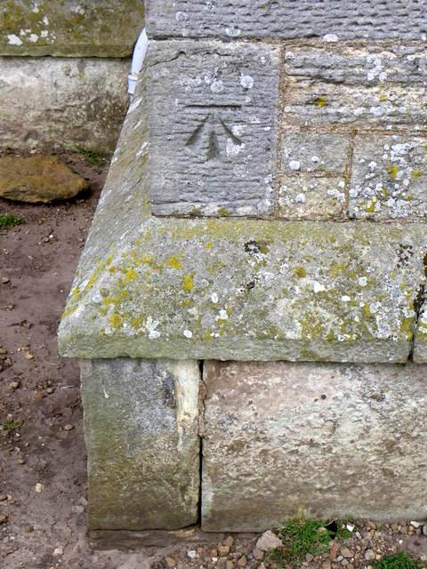 Bench Mark, Boarhills and Dunino Parish Kirk