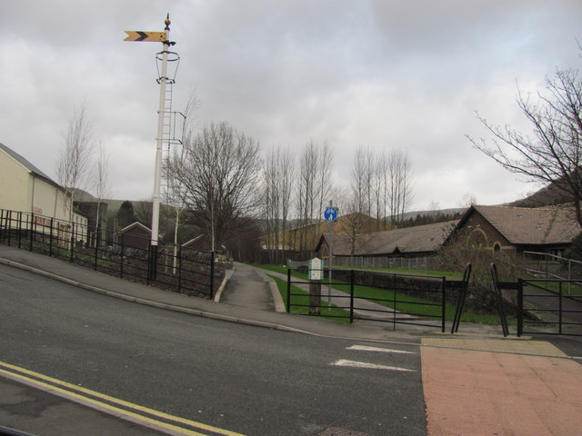 Site of Ogmore Vale Station
