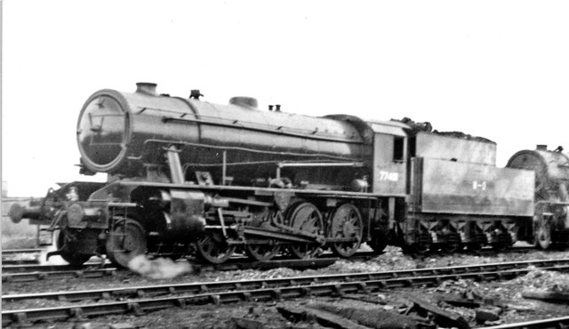 WD 2-8-0 'Austerities' at March Locomotive Depot