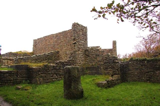 The rear of St Patrick's Chapel