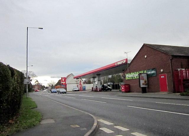Wychbold A38 From Church Lane