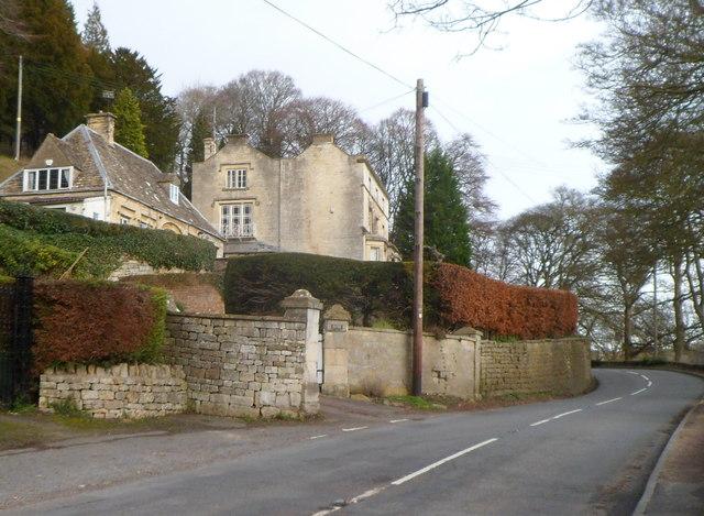 Woodside Cottage and Woodside House, Slad