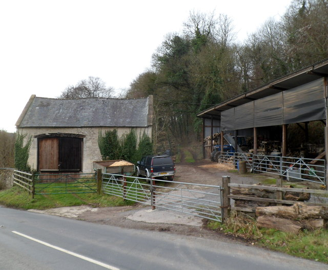 Painswick Slad Farm buildings