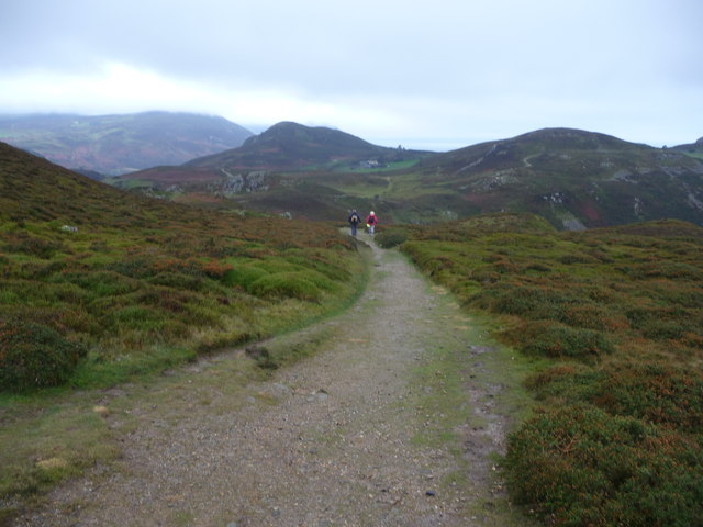 Part of the North Wales Path on Conwy Mountain