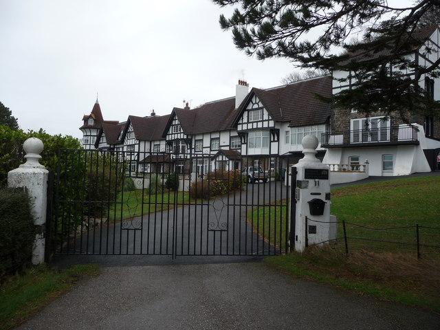Oakwood Park Hall near Conwy