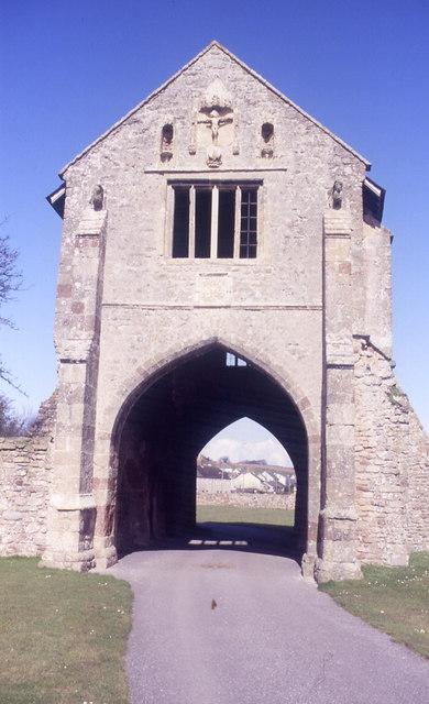Gatehouse, Cleeve Abbey