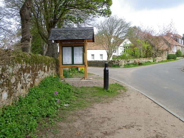 Village scene, Boarhills