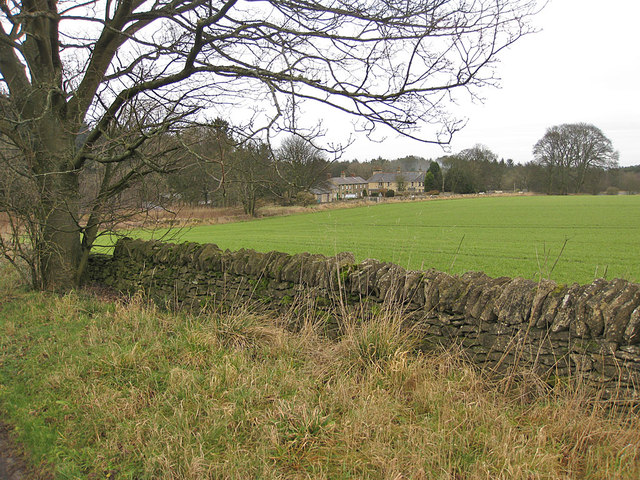 January view towards the Hambleton Inn