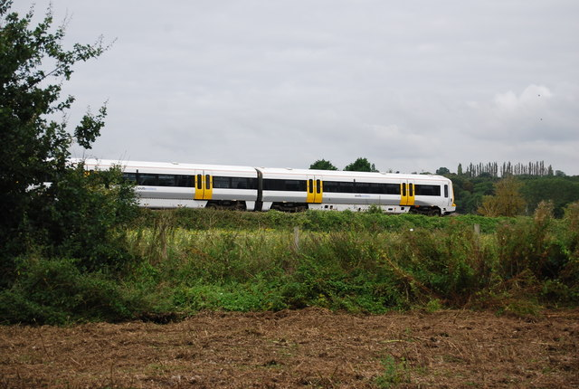 Train on the Medway Valley Line
