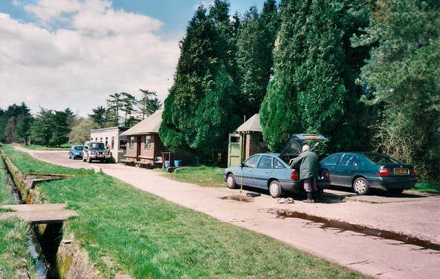 Car Park and office, Barnsfold Trout Fishery