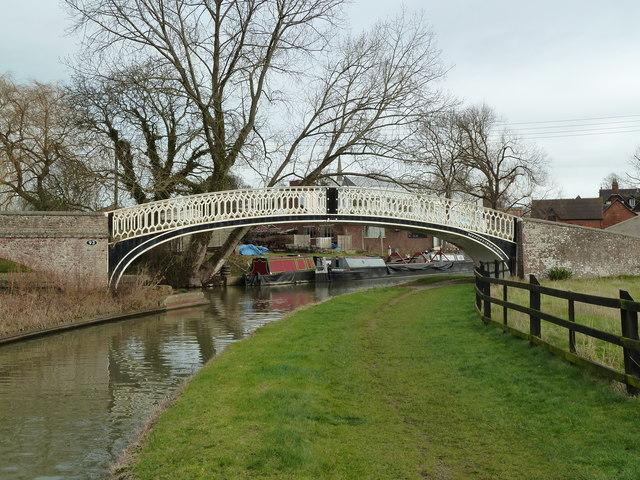 Bridge 93, Oxford Canal