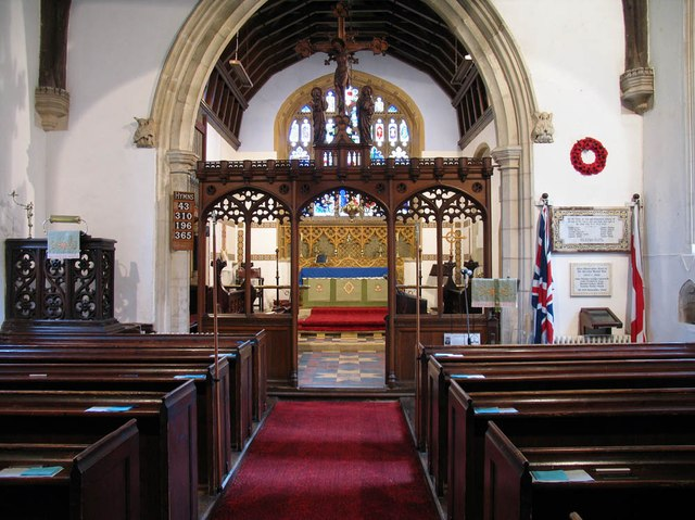 St Mary, Panfield - East end