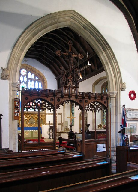 St Mary, Panfield - Screen