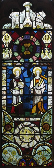 St Mary, Panfield - Stained glass window