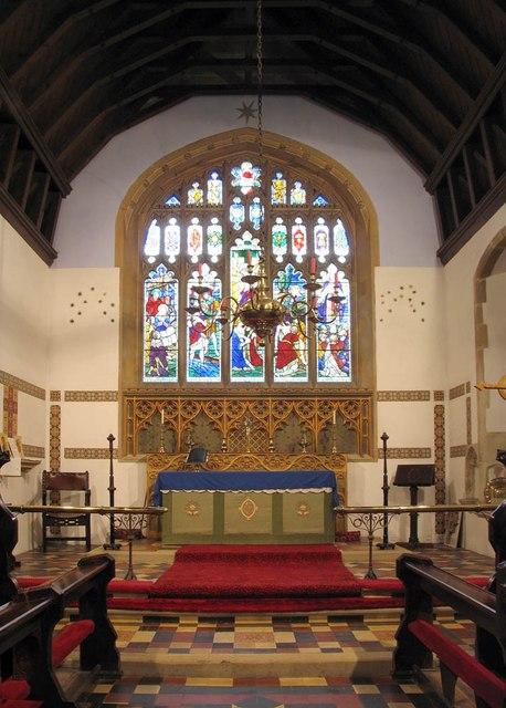 St Mary, Panfield - Chancel