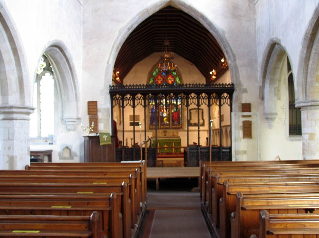 St Mary Magdalene & St Mary the Virgin, Wethersfield - East end