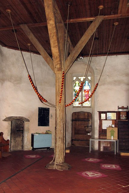 St Mary Magdalene & St Mary the Virgin, Wethersfield - Ropes