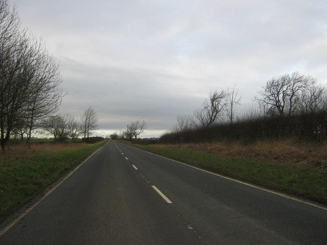 Hurworth Burn Road leading to Trimdon