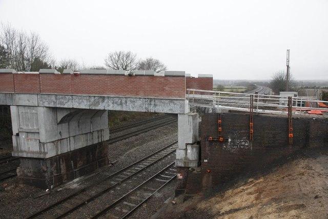 Part of the bridge