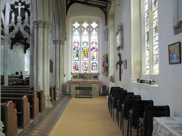 St Mary the Virgin, Great Bardfield - South aisle