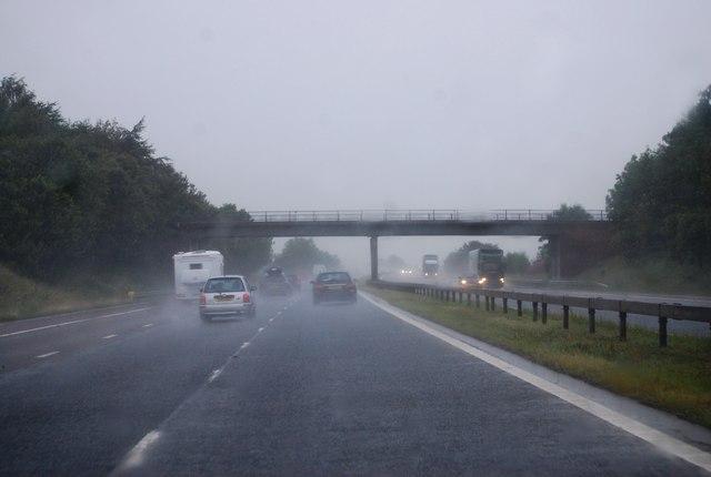 B6413 bridge, M6