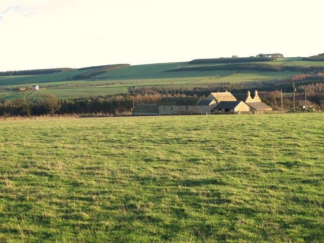 Farmland northwest of Fotherley Buildings