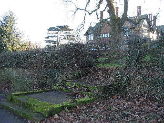 Old steps, Allesley Hall