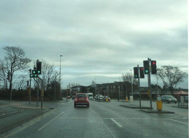 Traffic Lights on Preston New Road